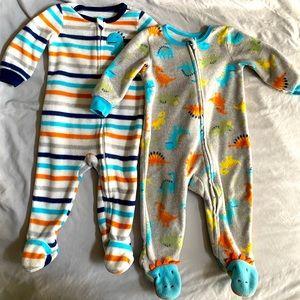 Baby boy 9M footie pajamas